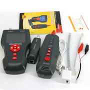 Nf-8601 Lan Network Cable Tester Diagnose Bnc Ping/poe Tone Phone Wire Tracer