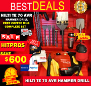 Hilti Te 70 Avr Preowned, Free Coffee Mug, Bits And Chisels, Quick Shipping