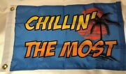 Chillinand039 The Most 12x18 New Nautical Boat Flag Kid Rock Detroit Made In Usa