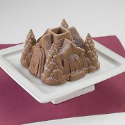New Nordic Ware 3d Fairytale Cottage Gingerbread House Bundt Cake Pan Jello Mold