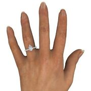 1.25 Ct Pear Cut D/si2 Enhanced Diamond Solitaire Engagement Ring White Gold