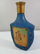 Vintage 1968 Jim Beam Decanter Frederic Remington Western Scene The Scout Empty