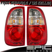 Access Regular Cab Tail Lights For 2005-2006 Toyota Tundra - Left Right Pair