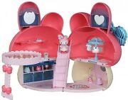 New My Melody Koeda Chan Dress Up Pretty Pink House Toy Sanrio, F/s From Japan