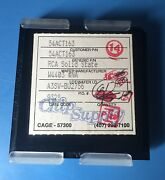 61x 54act163 Rca Wafer Chip Style 61/units Total