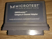 Microtest Omniscanner Category 6 Channel Adapter / 2950-4012-02