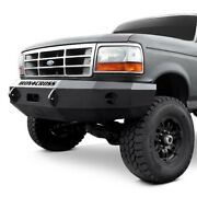 Iron Cross Hd Base Front Winch Bumper For 1992-1996 Ford F150 F250 F350 Truck