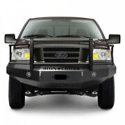 Iron Cross Hd Grille Guard Front Bumper For 2004-2008 Ford F-150 Truck 24-415-04