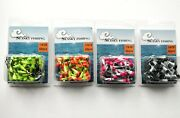 50 New Painted Shad Dart Jigheads 1/16 Oz Fishing Hooks Lures Bait Tackles 2