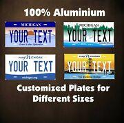 Michigan State Custom Auto Or Motorcycle Novelty Personalized License Plates Tag