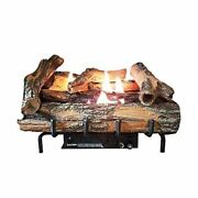 Low Country Timber 18 Vent-free Log Set With Manual Control - Lp