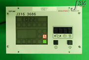 3686 Pfeiffer Turbo Pump Controller W/ Cable P/n Pm Co1 490 Tcp 380