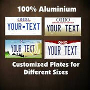 Ohio State Tag Auto Or Motorcycle Custom Personalized License Plates