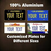 California State Tag Custom Auto Or Motorcycle Personalized License Plates