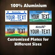 Kentucky State Custom Auto Car Or Motorcycle Personalized License Plates Tag