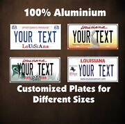 Louisiana State Custom Auto Car Or Motorcycle Personalized License Plates