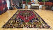 Antique 1900-1930and039s Turkish Tribal Rug 4and0391and039and039 X 8and039