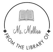 From The Library Of Custom With Book Logo And Name 2 Round Self Ink Stamp 400r