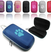 Durable Animal Paw Hard Fabric Mp3 Player Cover Clamshell Case For Sony Walkman