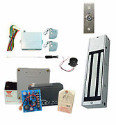Jewelry Store Magnetic Lock Kit System With 1200 Lbs Holding Force And Back-up Bat