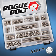 Small Block Ford Sbf Stainless Steel Engine Bolt Kit Set 260 289 302 351w Driver
