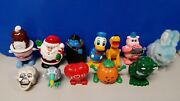 Vintage Wind-up Toy Lot Of 14 4 Do Not Work Fix Or Repair As Is