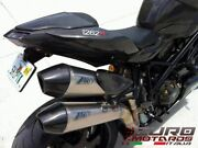 For Ducati Streetfighter Zard Exhaust Steel System And Titanium Silencers +3hp