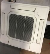 Mitsubishi Ceiling Cassette 10.5 Kw Heating And Cooling Inverter Fully Fitted