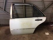 Rear Left Driver Side Door Shell White Fits 92 93 94 Mercedes Benz 400sel 500sel