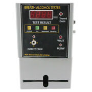 New Coin Breath Alcohol Tester At319 Breathalyser Detector Blood Alarm Bac