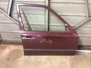 Front Right Door Shell Electric Burgundy Fits 87 88 89 Mercedes Benz 260e 300e