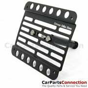 Multi Angle Tow Hook Mount License Plate Bracket Mb W219 Cls 05-10 No Pdc