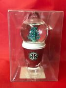 Starbucks 2006 Holiday Snow - Globe Ornament To - Go Cup 236292