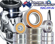 Shimano Stradic Bearing Kits Upgrade And Tune - Stainless Steel And Ceramic Ci4+