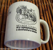 Nevada County Fairgrounds First Edition Mug Gentle Giant Collectible