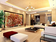 3d Carved Color Flowers 85 Wallpaper Decal Dercor Home Kids Nursery Mural Home
