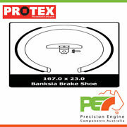 New Protex Parking Brake Shoe For Mitsubishi Magna Tw 4d Sdn Fwd.