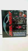 Star Wars Topps Widevision Cards Complete Set With Binder 1994