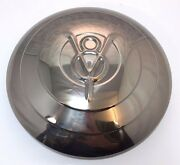Set 4 1933 Ford Car Stainless Hubcap V8 W/ Raised Rings Original Style