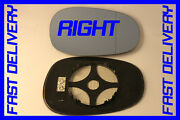 Bmw 1 Series E82 Coupe 120d 2010+ Door Wing Mirror Glass Blue Heat Right