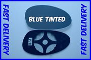 Bmw 1 Series 116 118 120 123 125 135 Wing Mirror Glass Blue Heated Convex Right