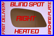 Bmw 6 Series 635d Facelift 2008-2011 Wing Mirror Glass Blind Spot Right