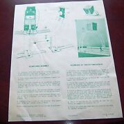 Coleco / Eagle Hockey Game Scoretower Assembly Instructions 1970and039s