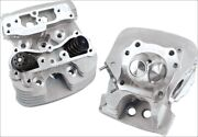 Sands Cycle Super Stock 89cc Silver Cylinder Heads For Harley Twin Cam 99-05