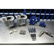 Sands Cycle Power Package 100 Silver Big Bore Kit W/ 585 Chain Cams 99-06