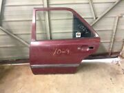 Rear Left Door Shell   Electric Red Fits 87 88 89 Mercedes Benz 260e 300e 300ce