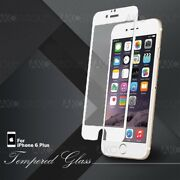 White Full Cover Tempered Glass Screen Protector For Iphone 6s 6 Plus 5.5 Lot
