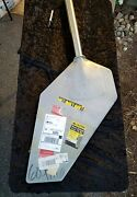 New Sailboat Rudder 45 Overall Length 2 Shaft. 1/2 Thick