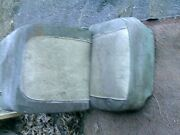 1953-60 Corvette Driver Seat Cushions, Frame And Adjuster - Oem
