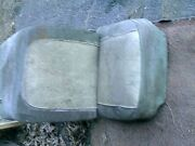 1953-60 Corvette Driver Seat Cushions Frame And Adjuster - Oem